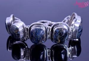 Bratara argint annesbijoux cu dendrite